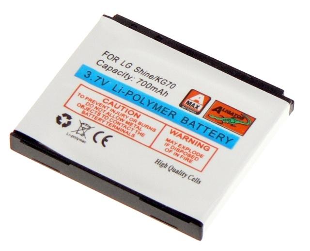 Batéria LG KG70, KE970 Shine, KG970 - 700 mAh Li-Pol