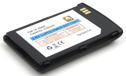 Batéria LG KG800 - 1100 mAh Li-Pol - čierna