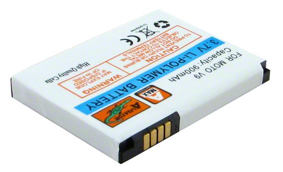 Batéria Motorola MOTORAZR2 V9, RAZR2 V9, V9x, MOTO Z9 - 900 mAh - Li-Pol