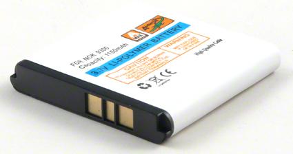 Batéria Nokia 3250, 6110 navigator, 6151, 6233, 6234, 6280, 9300, 9300i, N73, N93 - 1150 mAh Li-Pol