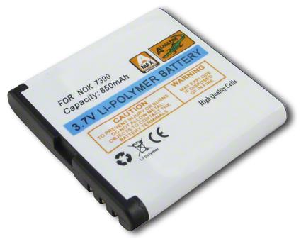 Batéria Nokia 5610 XpressMusic, 5700 XpressMusic, 6110 navigator, 6220 classic, 6290, 6500 slide, 7390 - 850 mAh Li-Pol