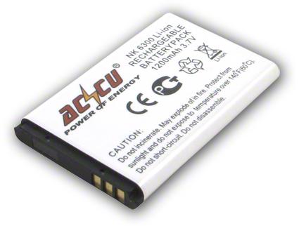 Batéria Nokia 2650, 2652, 5100, 6103, 6125, 6170, 6260, 6300, 7200, 7270 - 1200 mAh Li-Ion