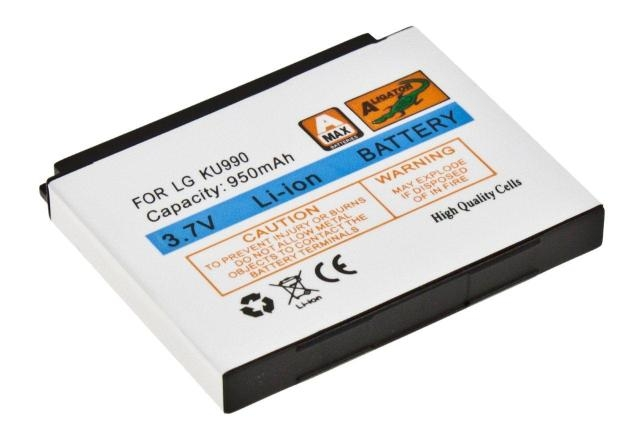 Batéria LG HB620T, KB620, KM900 (Arena), KC910 (Renior), KU990 (Viewty) - 950mAh Li-Ion