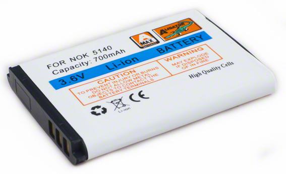 Batéria Nokia 3220, 3230, 5140, 5140i, 5200, 5300, 5500, 6020, 6021, 6060, 6070, 6080, 6120 classic, 6121 classic, 7260, 7360, N80 - 700 mAh Li-Ion