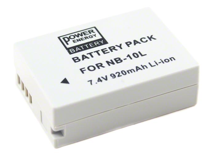 Batéria NB-10L (920 mAh) pre Canon PowerShot SX60HS, SX50HS, SX40HS, G15, G16, G1 X a G3 X
