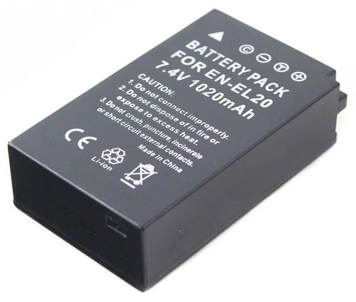 Batéria EN-EL20 (1020mAh) pre Nikon 1 AW1, J1, J2, J3, S1