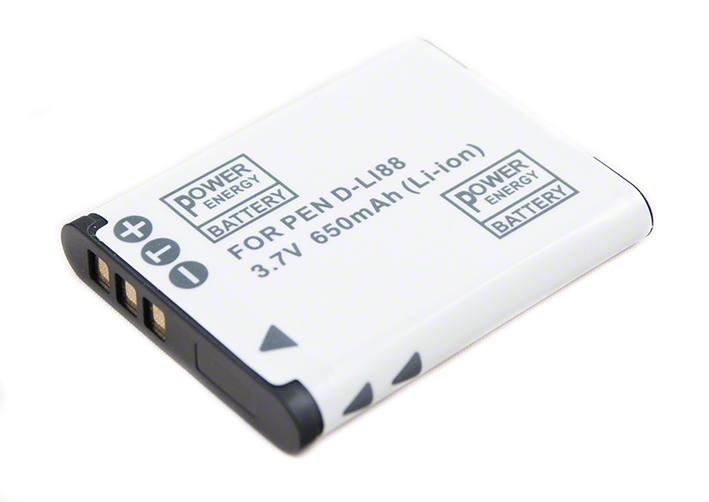 Batéria pre Pentax D-LI88, Sanyo DB-L80, Panasonic VW-VBX070, Toshiba PX1686 - 650mAh