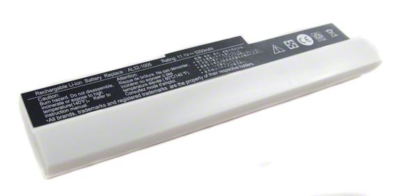 Batéria pre Asus Eee PC 1001HA, 1005, 1101HA - 5200 mAh - biela