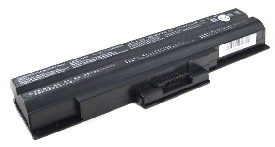 Batéria pre Sony Vaio VGN-AW11M, VGN-NW21MF - 5200 mAh - čierna