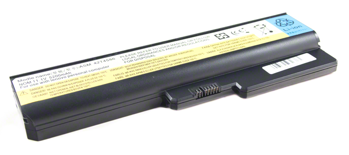 Batéria pre Lenovo B460, B550, G430, G450, G530, G550, N500 - 5200 mAh