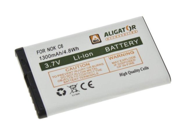 Batéria Nokia C6-00 - 1300 mAh Li-Ion