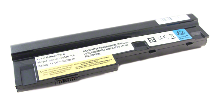 Batéria pre Lenovo IdeaPad S10-3 sarie, S205, U165 - 5200 mAh - čierna