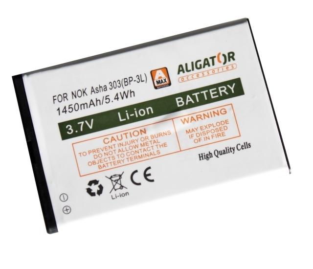 Batéria Nokia Lumia 610, 710, Asha 303, Asha 603 - 1450 mAh Li-Ion