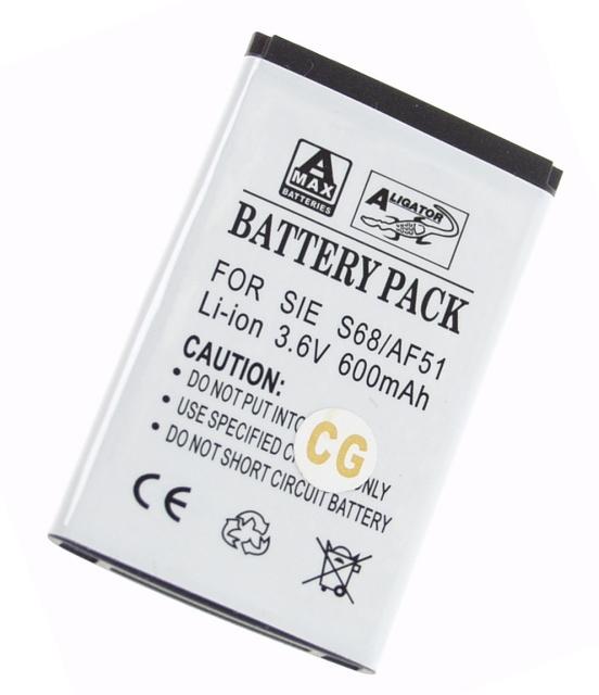 Batéria Benq-Siemens AF51, S68 - 600 mAh Li-Ion