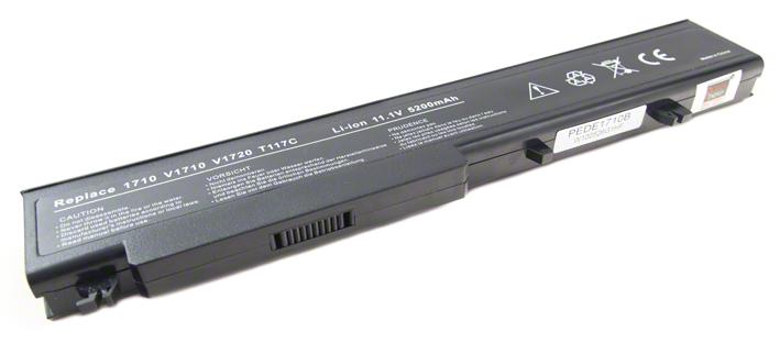 Batéria pre Dell Vostro 1710, 1710n, 1720, 1720n - 5200 mAh - 10,8V/11,1V