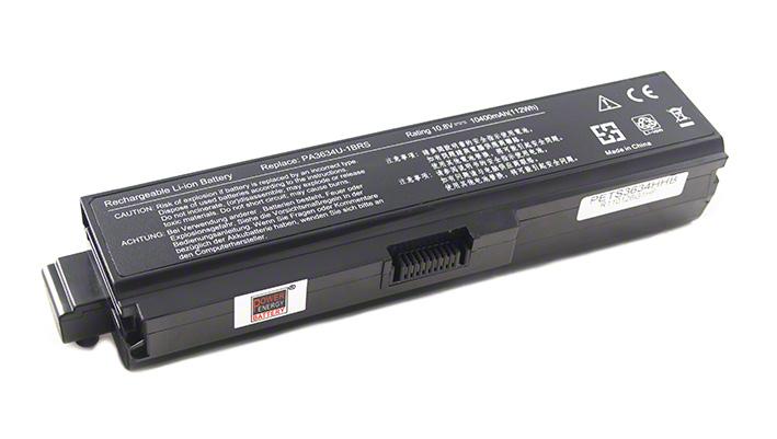 Batéria pre Toshiba Satellite PA3818U-1BRS, PA3817U-1BRS, PA3634U-1BRS, PA3816U-1BAS pre notebooky M830, M820, M810, M800 - 10400 mAh