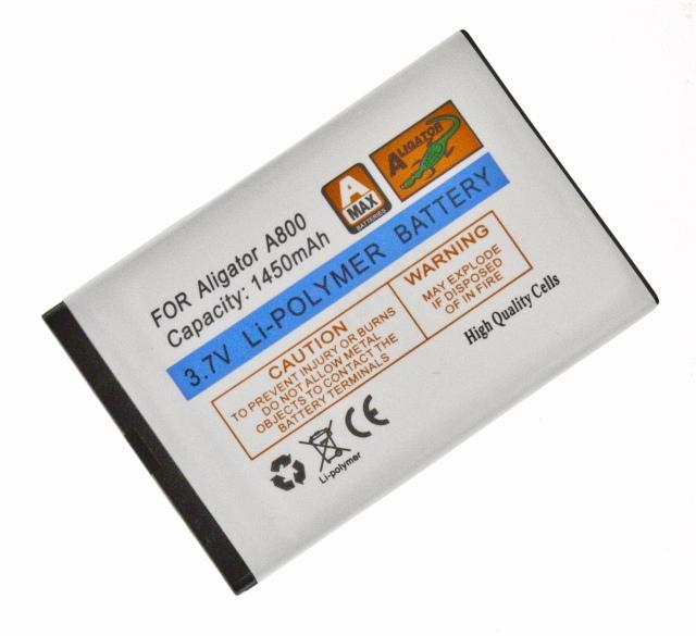 Batéria Aligator A800, A850 - 1450 mAh - Li-Pol