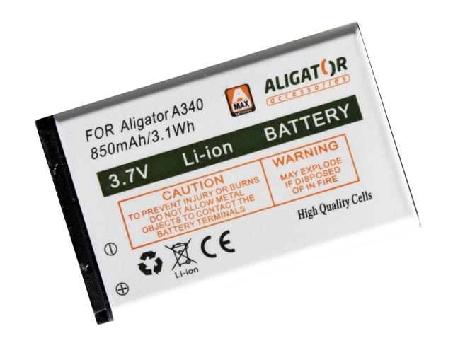 Batéria Aligator A340, A310 - 850 mAh - Li-Ion