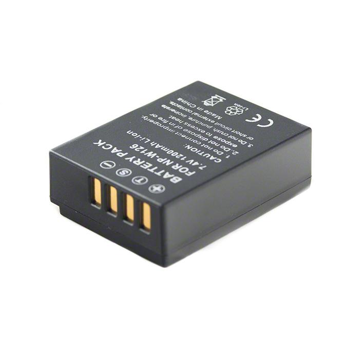 Batéria NP-W126 (1100 mAh) pre Fujifilm FinePix HS30EXR, HS33EXR, X-Pro1, X-E1, X-E2, X-M1, X-A1, X-A2, X-T1