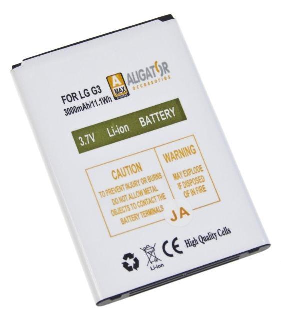 Batéria LG G3 D855 - 3000 mAh Li-Ion