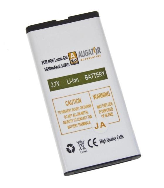 Batéria Nokia Lumia 630, 630 Dual SIM, 635 - 1650 mAh Li-Ion