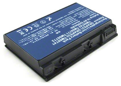 Batéria Grape32 pre notebooky Acer Extensa 5210, 5220, 5420G, 5620G, 5620Z, 5630, 5630G, 5630Z - 5200 mAh - 10,8V/11,1V