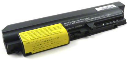 Batéria pre Lenovo ThinkPad R400, R61, R61i, T400, T61 - 5200 mAh
