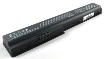 Batéria pre HP HDX X18 sarie, Pavilion DV7, DV8 sarie - 4400 mAh - 14,4V/14,8V