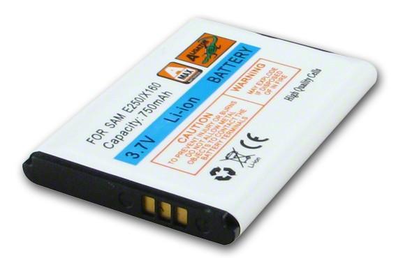 Akumulátor Samsung SGH E250, E900, C130, C140, C300, D520, D720, D730, E250V, E380, E420, E500, E870, i320, X150, X160 - 750mAh Li-Ion