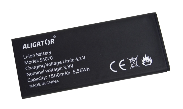 Batéria Aligator S4070 DUO - 1500 mAh - Li-Ion bulk